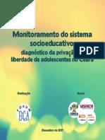 Monitoramento do sistema socioeducativo do Ceará