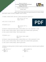 Lista 6 - Equação Diferencial