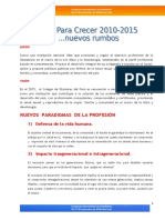 Plan Para Crecer 2010- 2015