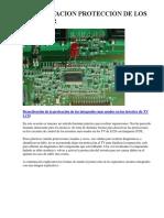 Desactivar sistema protección televisor  LCD inverter