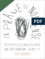 [Ted Hiebert] in Praise of Nonsense Aesthetics, U(B-ok.org)