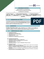 F175.200 Antropologia Social