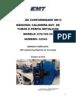 Avaliação de Riscos Calandra Automatica - Polomex