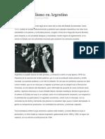 El Neoliberalismo en Argentina Para El Plenario