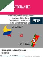 FACTORES DETERMINANTES COLOMBIA-PORTUGAL
