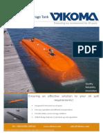 Flexible Floating Storage Tank