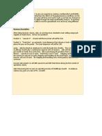 CVP Excel Project