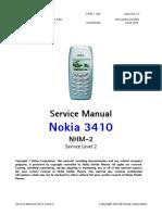 Nokia 3410 servicemanual