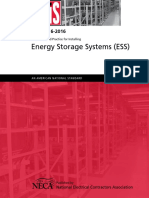 NEIS Recommended Practice for Installing Energy Storage Systems NECA 416 16