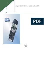 Nokia 6210 Manual