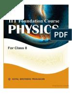 Goyal Foundation Course Physics IIT