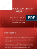 MIcroprocessor Design on PC Input and MAR RAM