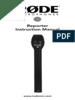Reporter User Manual