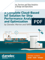 A Complete Cloud-Based IoT Solution for Ship Performance Analysis and Optimization by Danelec Marine and NAPA