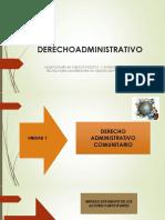Derecho Administrativo Comunitario