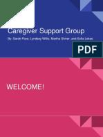 caregiver support group presentation