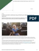 Polícia prende centenas em protesto por eleições livres em Moscou _ Notícias internacionais e análises _ DW _ 27.07.2019