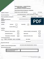 Formato de Solicitud de Permisos y Licencias