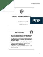 drogas vasoactivas para enfermeria