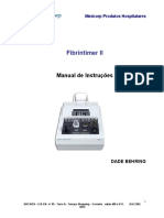 Fibrintimer II Manual 200641994813