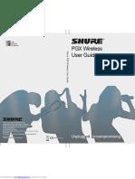 Shure Pgx Wireless