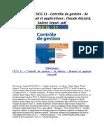 DCG 11 - Contrôle de gestion - 3e édition - Manuel et applications.pdf