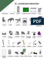1 - Vocabulary - Objects Around Room
