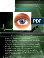 The Physiology of Vision