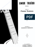 Antonio Scramuzza - Amor Traido (v) Domingos Semenzato
