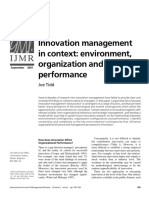 Tidd-2001-International Journal of Management Reviews
