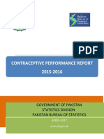 Contraceptive Report
