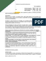 Modelo Informe de Evaluación Psicopedagógica