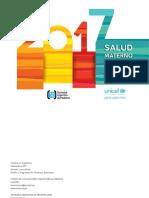 mortalidad infanto juvenil informe 2017