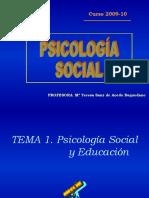 Tema 1 (Psicologia Social) (1)