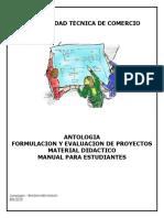 Antologia Formulacion y Evaluacion de Proyectos Primera Unidad-1