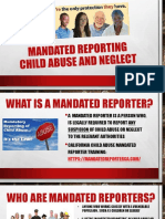 mandate reporting