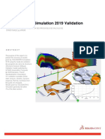 SOLIDWORKS Simulation 2019 Validation