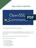Openssl Commands