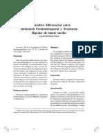 Demencia Frontotemporal y Bipoolaridad de Inicio Tardio