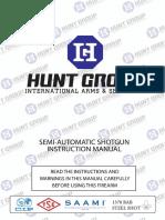 Semi Automatic Huntgroup
