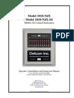 Detcon Modelo0 1010 n4x Esp