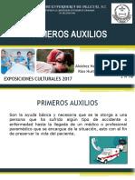 PRIMEROS AUXILIOS EXPOSICIÓN