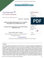 Modelación Hidrológica de La Cuenca Maylanco Utilizando Hec-hms