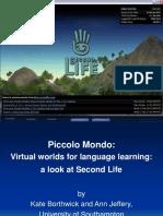 Second Life 01Feb07