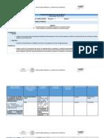 Planeación Didáctica Unidad 4-1
