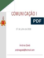 Comunicação institucional de oNGs