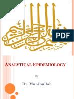 4- Analytical Epidemiology
