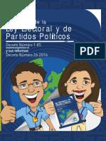 Capacitación Electoral Módulo 02, Compendio de la Ley Electoral y Sus Reformas, TSE Guatemala 2019