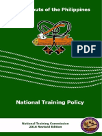 BSP National Training Policy 2016