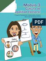 Capacitación Electoral Módulo 03, Cultura de Legalidad Electoral, TSE Guatemala 2019